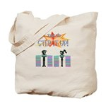 Step it up - Step Aerobics Tote Bag
