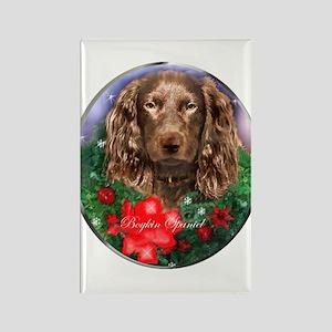 Boykin Spaniel Christma Rectangle Magnet (10 pack)