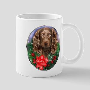 Boykin Spaniel Christmas 11 oz Ceramic Mug