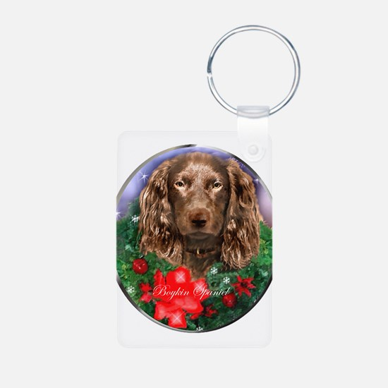Boykin Spaniel Christmas Keychains