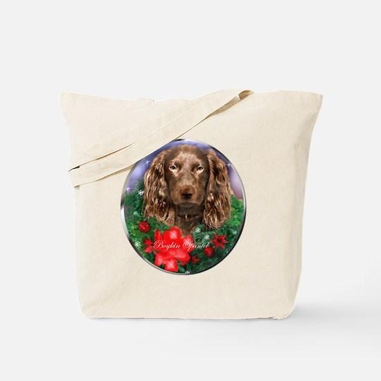 Boykin Spaniel Christmas Tote Bag