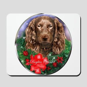 Boykin Spaniel Christmas Mousepad