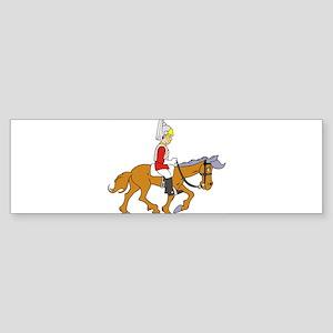 Horseman Bumper Sticker