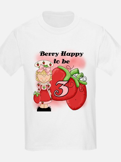 (Blond) Berry 3rd Birthday T-Shirt