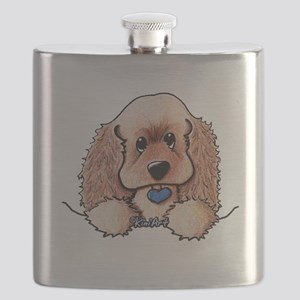 ASCOB Cocker Spaniel Flask