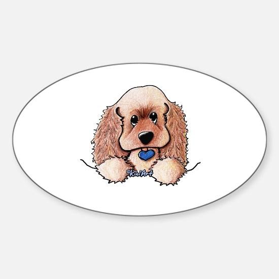 ASCOB Cocker Spaniel Sticker (Oval)