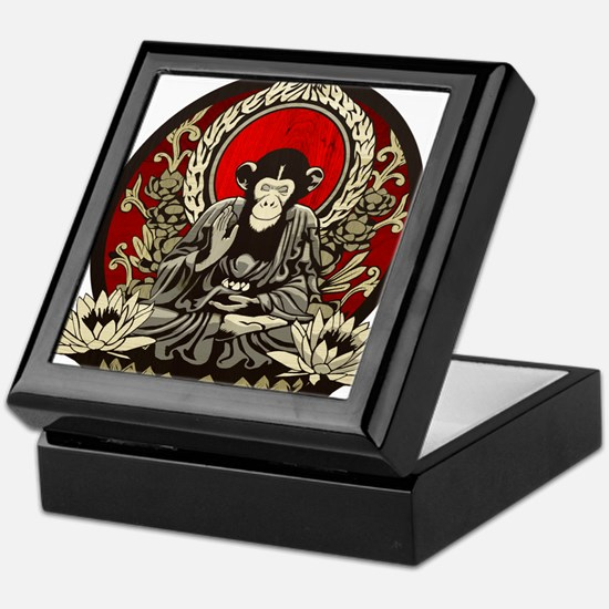 Zen Chimp Keepsake Box