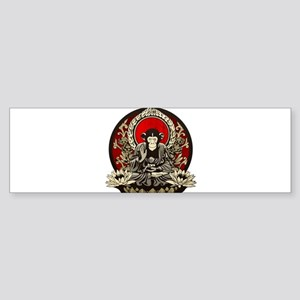 Zen Chimp Sticker (Bumper)