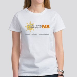 Positive Living with MS T-Shirt