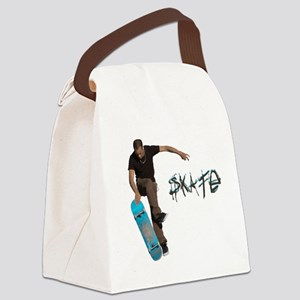 Skate Fakie Canvas Lunch Bag