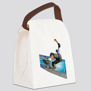 Pool Skate Canvas Lunch Bag
