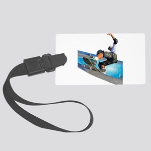 Pool Skate Large Luggage Tag