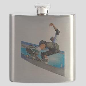Pool Skate Flask