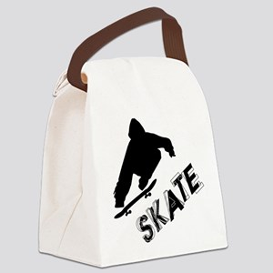 Skate Ollie Sillhouette Canvas Lunch Bag