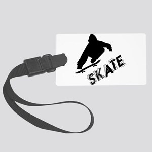 Skate Ollie Sillhouette Large Luggage Tag