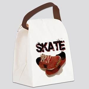 Skate Shoes Cartoon Canvas Lunch Bag