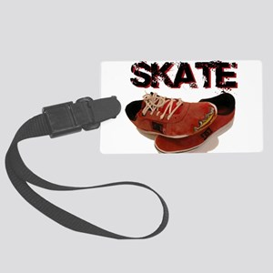 Skate Shoes Cartoon Large Luggage Tag