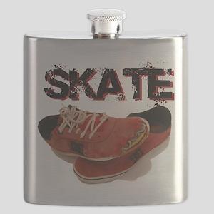 Skate Shoes Cartoon Flask
