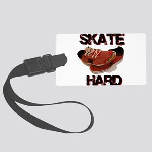 Skate Hard Shoes Cartoon Large Luggage Tag