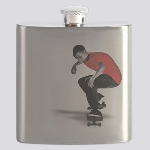 skater_ red Flask