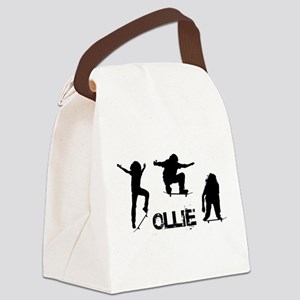 Ollie Canvas Lunch Bag