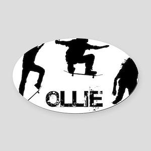 Ollie Oval Car Magnet