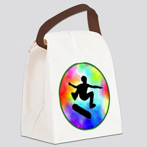 skater tie-dye Canvas Lunch Bag