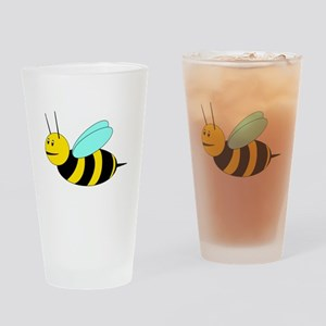 Buzzy Bee Drinking Glass