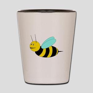 Buzzy Bee Shot Glass