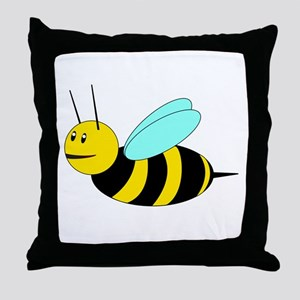 Buzzy Bee Throw Pillow