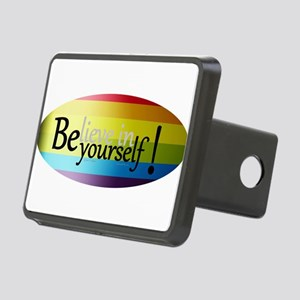 Believe L Rectangular Hitch Cover