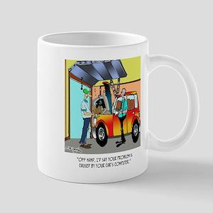 Car Repair Cartoon 8532 11 oz Ceramic Mug