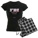FBI_FeelBetterInside Women's Dark Pajamas
