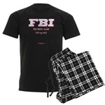 FBI_FeelBetterInside Men's Dark Pajamas
