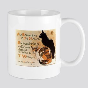 Black and Calico Cat Mugs