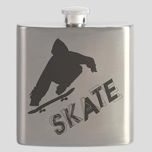 Skate Ollie Sillhouette Flask