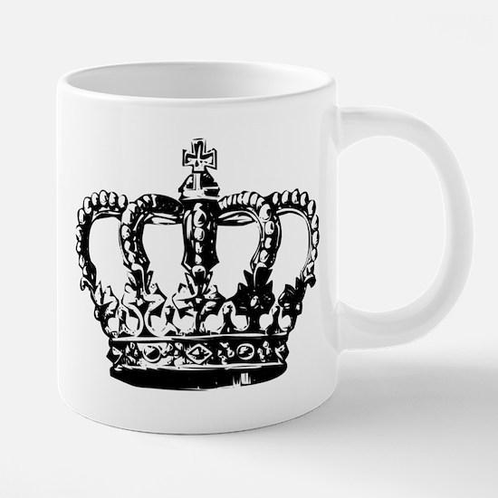 Black Crown Mugs