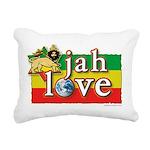 Jah Love Rectangular Canvas Pillow