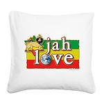 Jah Love Square Canvas Pillow