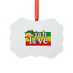 Jah Love Picture Ornament