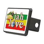 Jah Love Rectangular Hitch Cover