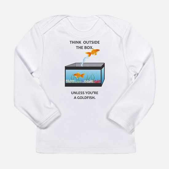 THINK OUTSIDE THE BOX Long Sleeve Infant T-Shirt