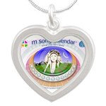 Msong Silver Heart Necklace