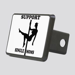 Support Single Moms Rectangular Hitch Cover