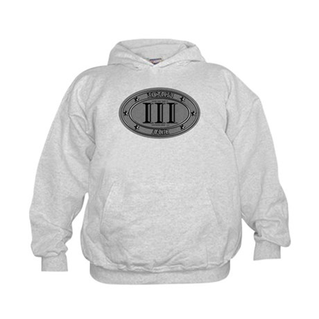 Molon Labe Oval Kids Hoodie