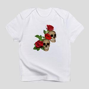 Skulls Roses Infant T-Shirt
