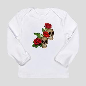 Skulls Roses Long Sleeve Infant T-Shirt