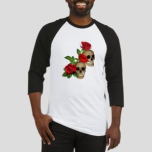 Skulls Roses Baseball Jersey