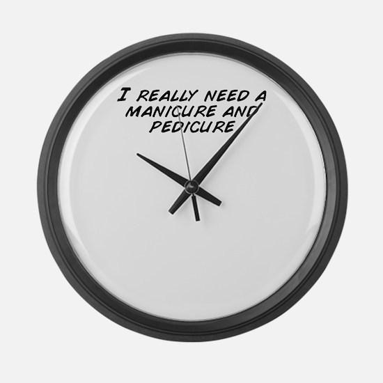 Cute I really need some minions Large Wall Clock