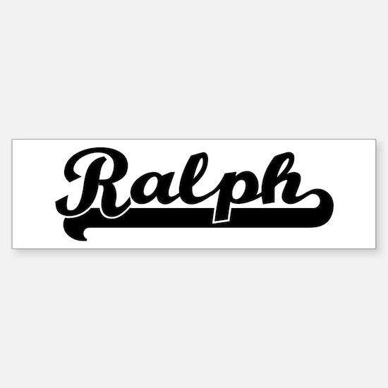 Black jersey: Ralph Bumper Bumper Bumper Sticker